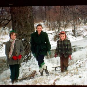 Trella, David and Kathy 1950s